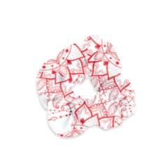 Mandala Pretty Design Pattern Velvet Scrunchie