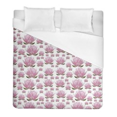 Lotus Duvet Cover (full/ Double Size) by ValentinaDesign