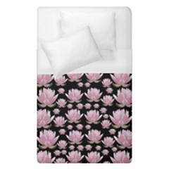 Lotus Duvet Cover (single Size) by ValentinaDesign