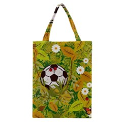Ball On Forest Floor Classic Tote Bag by linceazul