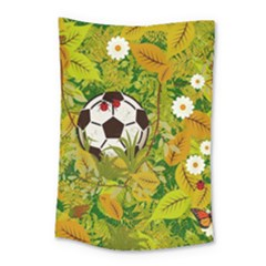 Ball On Forest Floor Small Tapestry by linceazul