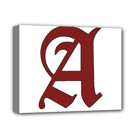 The Scarlet Letter Deluxe Canvas 14  X 11  by Valentinaart
