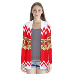 Heart Flowers Ring Cardigans