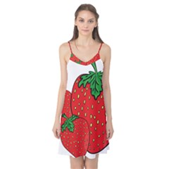 Strawberry Holidays Fragaria Vesca Camis Nightgown