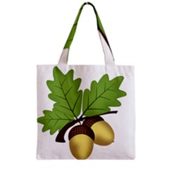 Acorn Hazelnuts Nature Forest Grocery Tote Bag by Nexatart