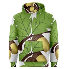 Acorn Hazelnuts Nature Forest Men s Pullover Hoodie