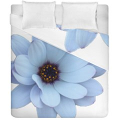 Daisy Flower Floral Plant Summer Duvet Cover Double Side (california King Size) by Nexatart
