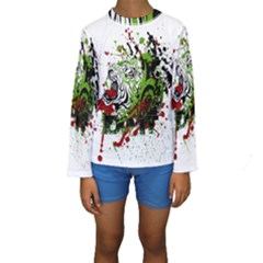 Do It Sport Crossfit Fitness Kids  Long Sleeve Swimwear by Nexatart