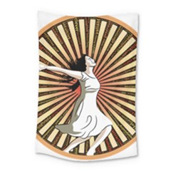 Woman Power Glory Affirmation Small Tapestry by Nexatart