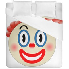 Clown Funny Make Up Whatsapp Duvet Cover Double Side (california King Size)