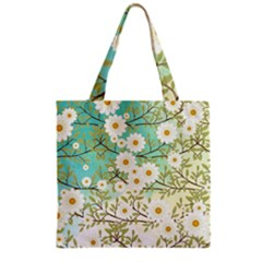 Springtime Scene Grocery Tote Bag by linceazul