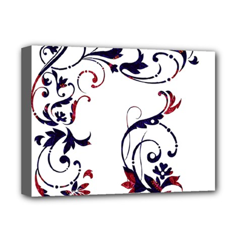Scroll Border Swirls Abstract Deluxe Canvas 16  X 12   by Nexatart