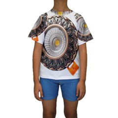 Lighting Commercial Lighting Kids  Short Sleeve Swimwear