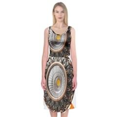 Lighting Commercial Lighting Midi Sleeveless Dress