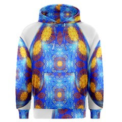Easter Eggs Egg Blue Yellow Men s Pullover Hoodie