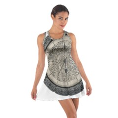 Clock Celtic Knot Time Celtic Knot Cotton Racerback Dress