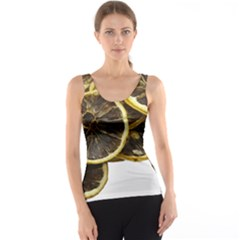 Lemon Dried Fruit Orange Isolated Tank Top