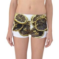 Lemon Dried Fruit Orange Isolated Reversible Bikini Bottoms by Nexatart