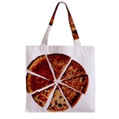 Food Fast Pizza Fast Food Grocery Tote Bag by Nexatart