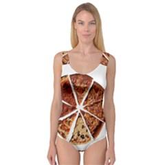 Food Fast Pizza Fast Food Princess Tank Leotard