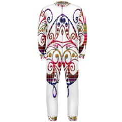 Butterfly Nature Abstract Beautiful Onepiece Jumpsuit (men)