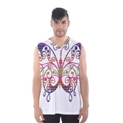 Butterfly Nature Abstract Beautiful Men s Basketball Tank Top