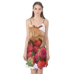 Strawberries Fruit Food Delicious Camis Nightgown