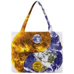 Design Yin Yang Balance Sun Earth Mini Tote Bag by Nexatart