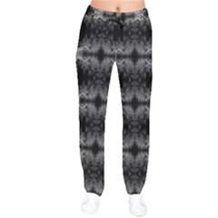140313001018y Izmir Velvet Drawstring Pants by tresfoliablackwhite