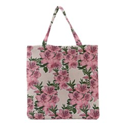 Orchid Grocery Tote Bag by Valentinaart
