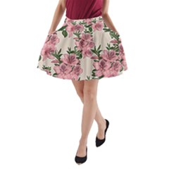 Orchid A Line Pocket Skirt by Valentinaart