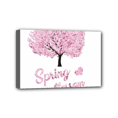 Spring Blossom  Mini Canvas 6  X 4  by Valentinaart