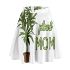 Plant Mom High Waist Skirt by Valentinaart