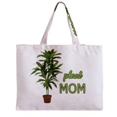 Plant Mom Medium Zipper Tote Bag by Valentinaart