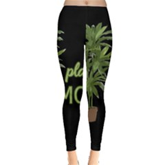 Plant Mom Leggings  by Valentinaart
