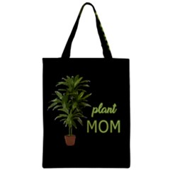 Plant Mom Zipper Classic Tote Bag by Valentinaart