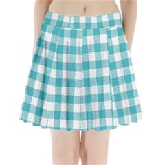 Plaid Pattern Pleated Mini Skirt by ValentinaDesign