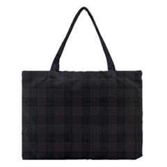 Plaid Pattern Medium Tote Bag by ValentinaDesign