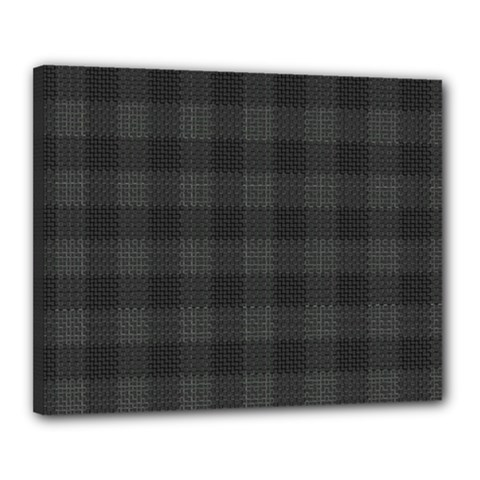 Plaid Pattern Canvas 20  X 16  by ValentinaDesign