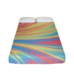 Colors Fitted Sheet (full/ Double Size) by ValentinaDesign