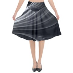 Colors Flared Midi Skirt by ValentinaDesign