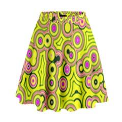 Bubble Fun 17d High Waist Skirt by MoreColorsinLife
