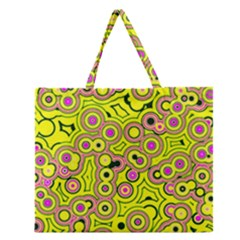 Bubble Fun 17d Zipper Large Tote Bag by MoreColorsinLife