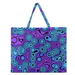 Bubble Fun 17f Zipper Large Tote Bag by MoreColorsinLife