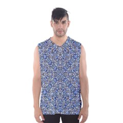 Geometric Luxury Ornate Men s Basketball Tank Top