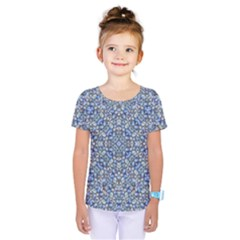 Geometric Luxury Ornate Kids  One Piece Tee