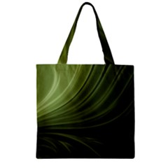 Colors Zipper Grocery Tote Bag by ValentinaDesign