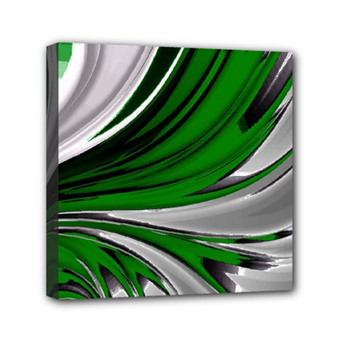 Colors Mini Canvas 6  X 6  by ValentinaDesign