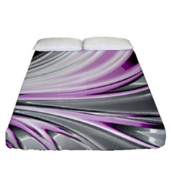 Colors Fitted Sheet (queen Size) by ValentinaDesign