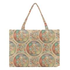 Complex Geometric Pattern Medium Tote Bag by linceazul